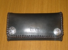 Celtic Long Wallet with Conchos